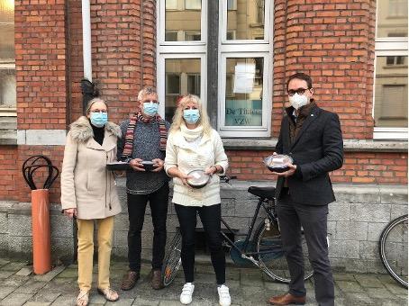 Lege Magen in Gent-actie
